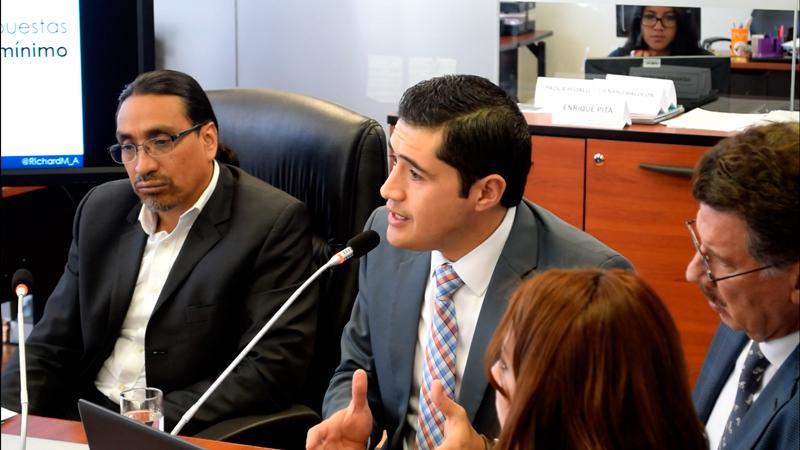 Comité Empresarial Ecuatoriano solicita a la  Comisión del Régimen Económico y Tributario la eliminación del Impuesto Mínimo a la Renta