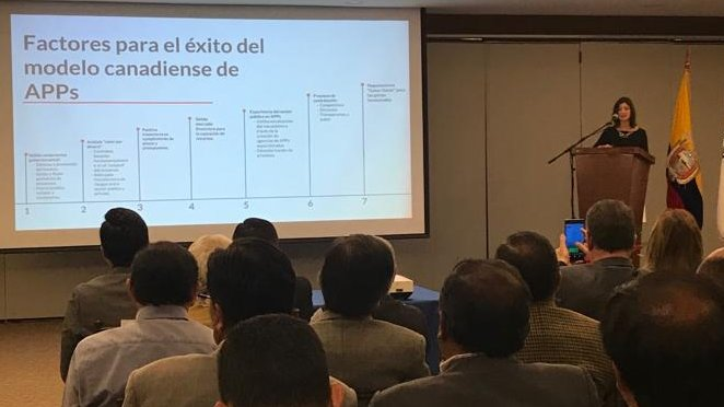 Evento #APPEcuador2030 reunió a representantes de los sectores público y privado