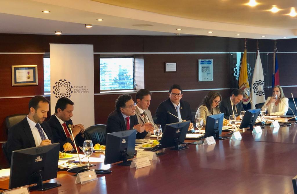 La CIP dialogó con el Contralor Pablo Celi