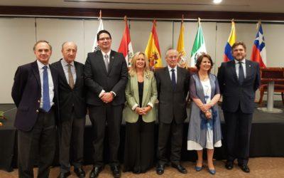 El V Encuentro Iberoamericano sobre la Alianza del Pacífico se realizó por primera vez fuera de España