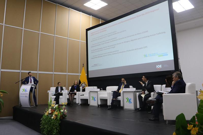 El sector privado internacional debatió sobre el impacto de las políticas migratorias en el ámbito laboral