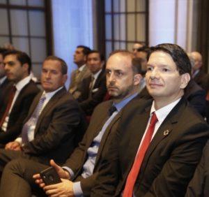 Pablo Zambrano Albuja en reunión en EE.UU.