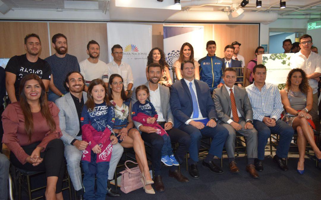 CIP llama a las empresas a invertir en los deportistas ecuatorianos