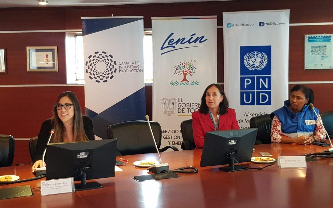 Ecuador cuenta con una Red Empresarial de Gestión de Riesgos