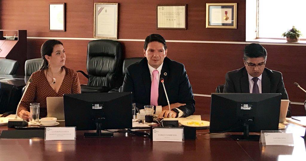 Pablo Zambrano Albuja fue reelegido como presidente de la Federación Nacional de Cámaras de Industrias del Ecuador