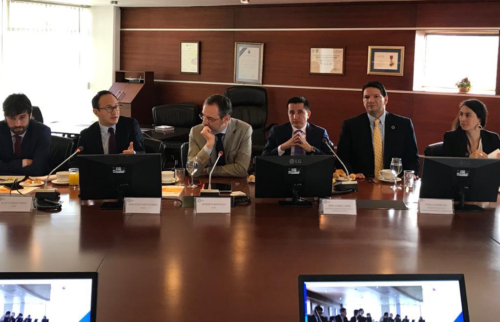 Cámara de Industrias y Producción acogió la 1° reunión de la OCDE con los sectores públicos y privados del Ecuador