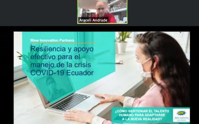 Webinar: Resiliencia y apoyo efectivo para manejar la crisis del Covid-19 en Ecuador