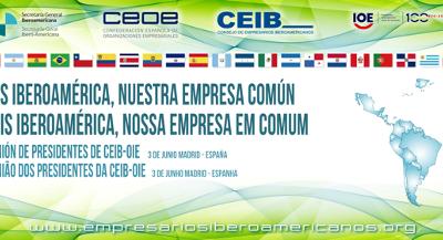 Rey de España se reunió con líderes de organización empresariales iberoamericanas, entre ellas la CIP