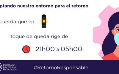 Parámetros para vigencia del semáforo amarillo en Quito