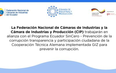 Ecuador SinCero por la prevención de la corrupción