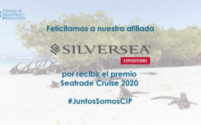 Felicitamos a nuestra afiliada Silversea Cruises por recibir el premio Seatrade Cruise 2020
