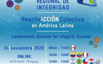 Alliance for Integrity llega a Ecuador