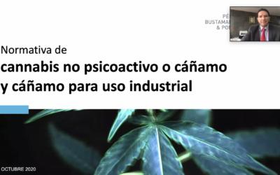 Webinar: Reglamento sobre Cannabis No Psicoactivo y Cáñamo para uso industrial