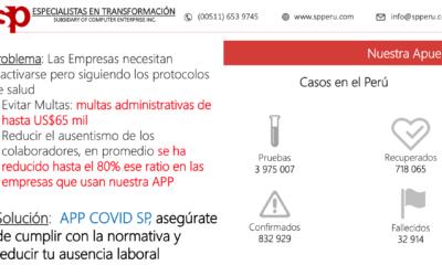 Webinar: APP Covid: Cumpliendo la normativa de salud y reactivando a las empresas