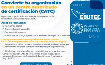Convierte tu organización en un centro autorizado de certificación
