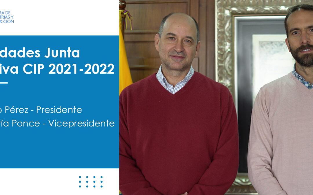 Nuevas autoridades en la Junta Directiva de la CIP para el período 2021-2022