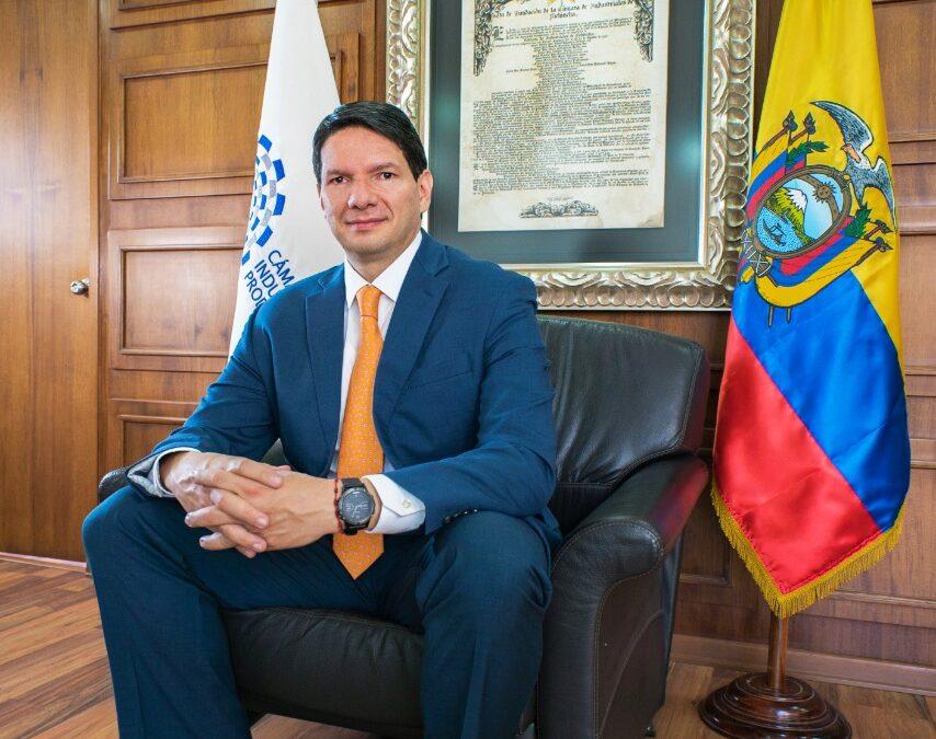 Pablo Zambrano Albuja es reelecto presidente de la Federación Nacional de Cámaras de Industrias del Ecuador